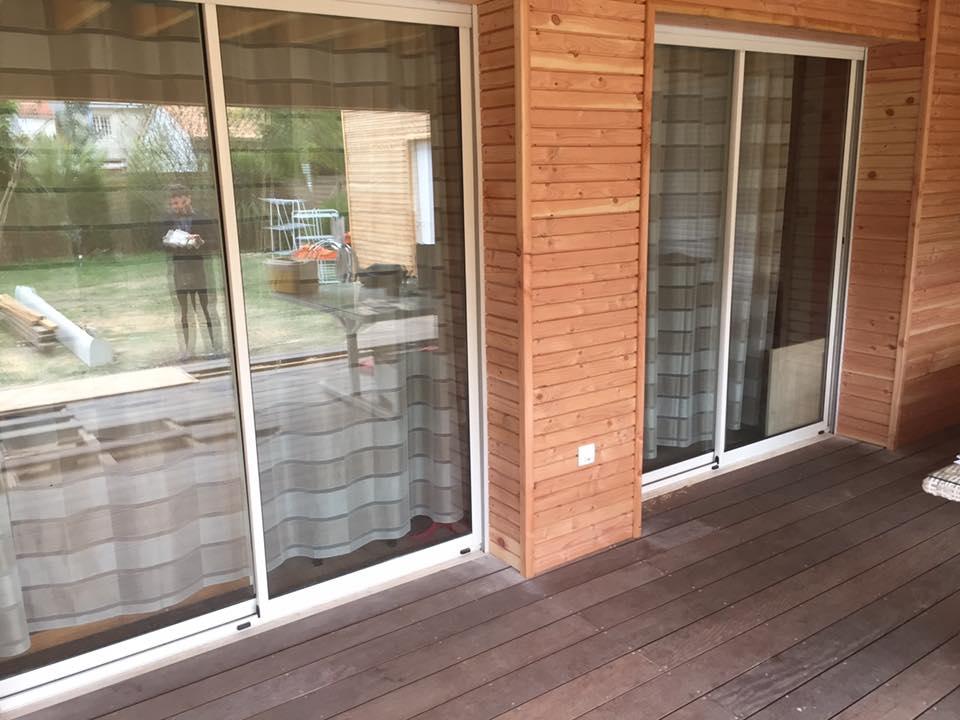 amenagement creation facade bardage bois sohe boissohe bois. Black Bedroom Furniture Sets. Home Design Ideas